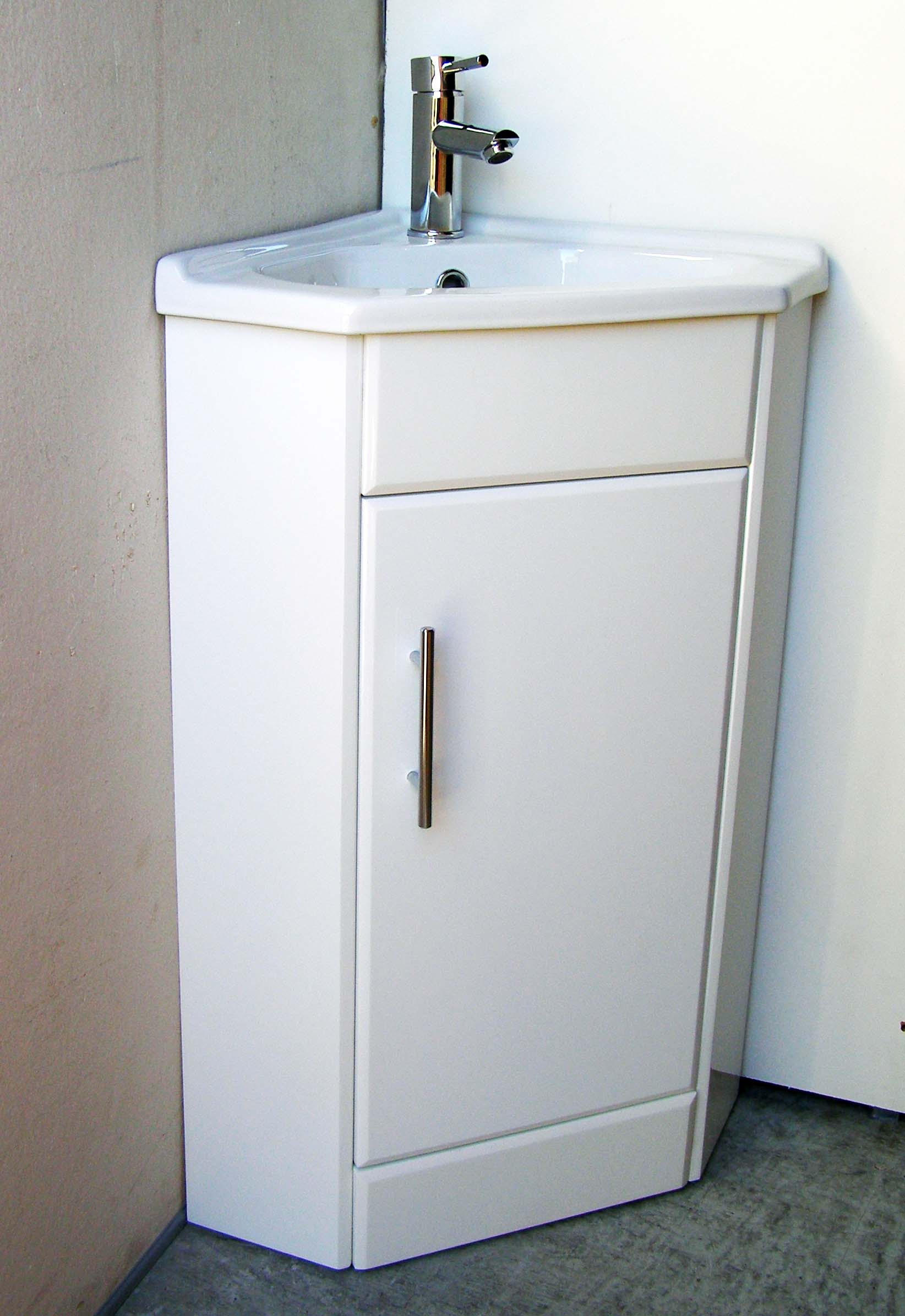 Corner vanity 400 400x400mm corner vanity with ceramic - Corner bathroom vanities for sale ...