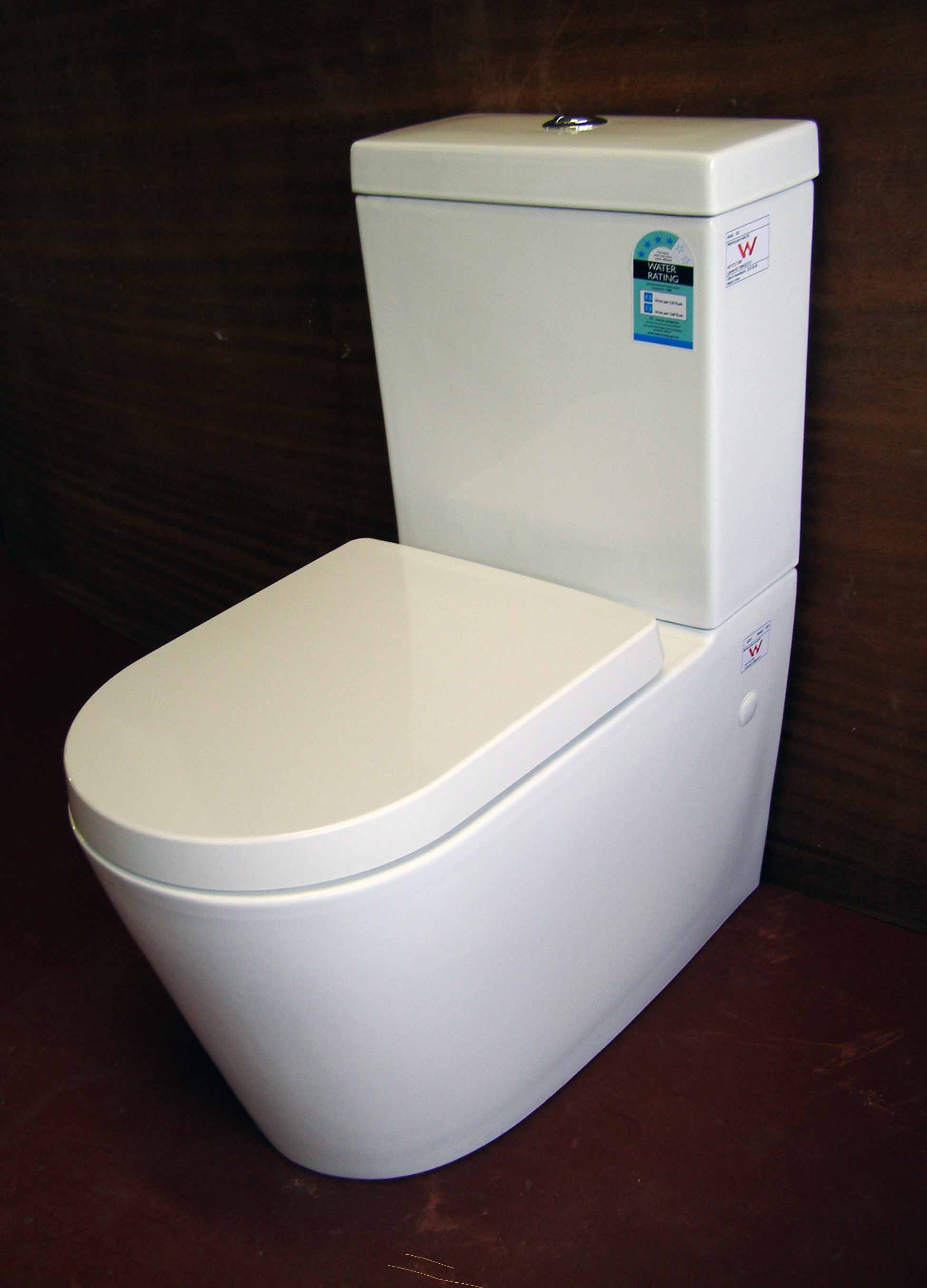 Apollo 02 Wall Faced S Trap Toilet Suite With Soft Close