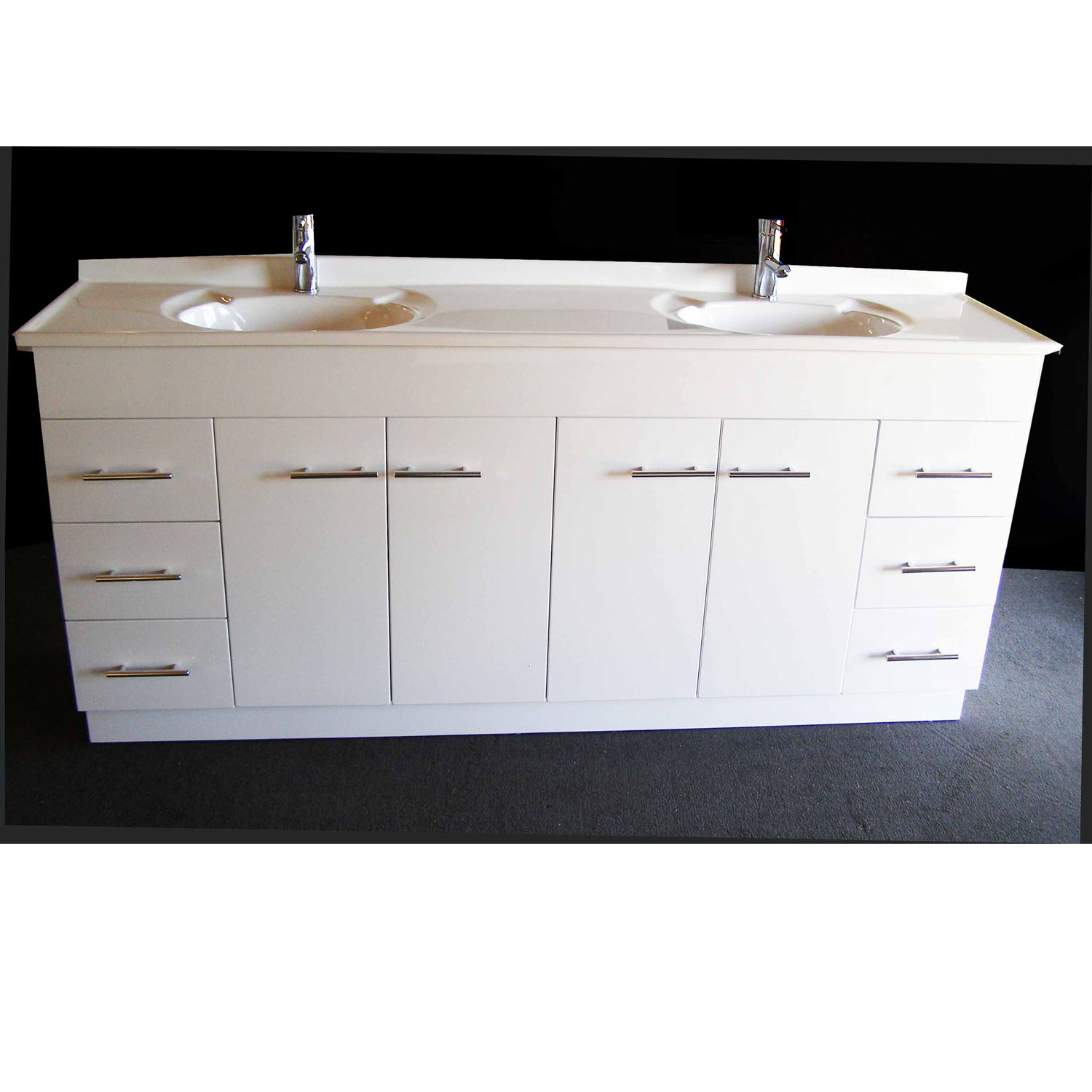 Daedalus Wp 1800mm Bathroom Vanity Unit With Australian