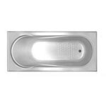 Allura 1220 Rectangular Bath Tub 1220x750x450mm
