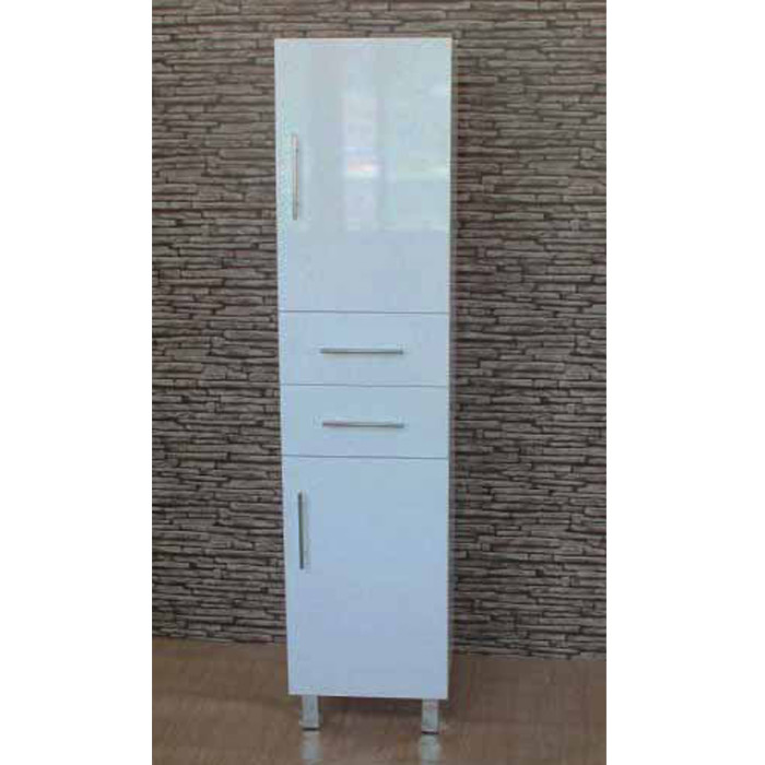 White Gloss Tall Bathroom Cabinet Tall Slim White Gloss Bathroom Cabinet Mai