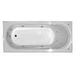 Allura-1530 Rectangular Bath Tub 1530x750x450mm