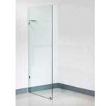 Euro Frameless Shower Screen Panel-880 With 10mm Australian Standard Toughen Glass 880x1950mm