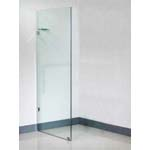 Euro Frameless Shower Screen Panel-980 With 10mm Australian Standard Toughen Glass 980x1950mm