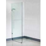 Euro Frameless Shower Screen Panel-1080 With 10mm Australian Standard Toughen Glass 1080x1950mm