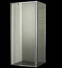 Euro Square Semi-Framed Shower Screen 900 Square 900x900mm With Pivot Door