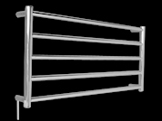 HTR-R6C square heated towel rail
