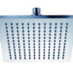 plastic sq shower head PRP1025-1