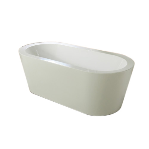 Paris 1500 Free Standing Bath Luxry 1500mm Oval Free Standing Bath