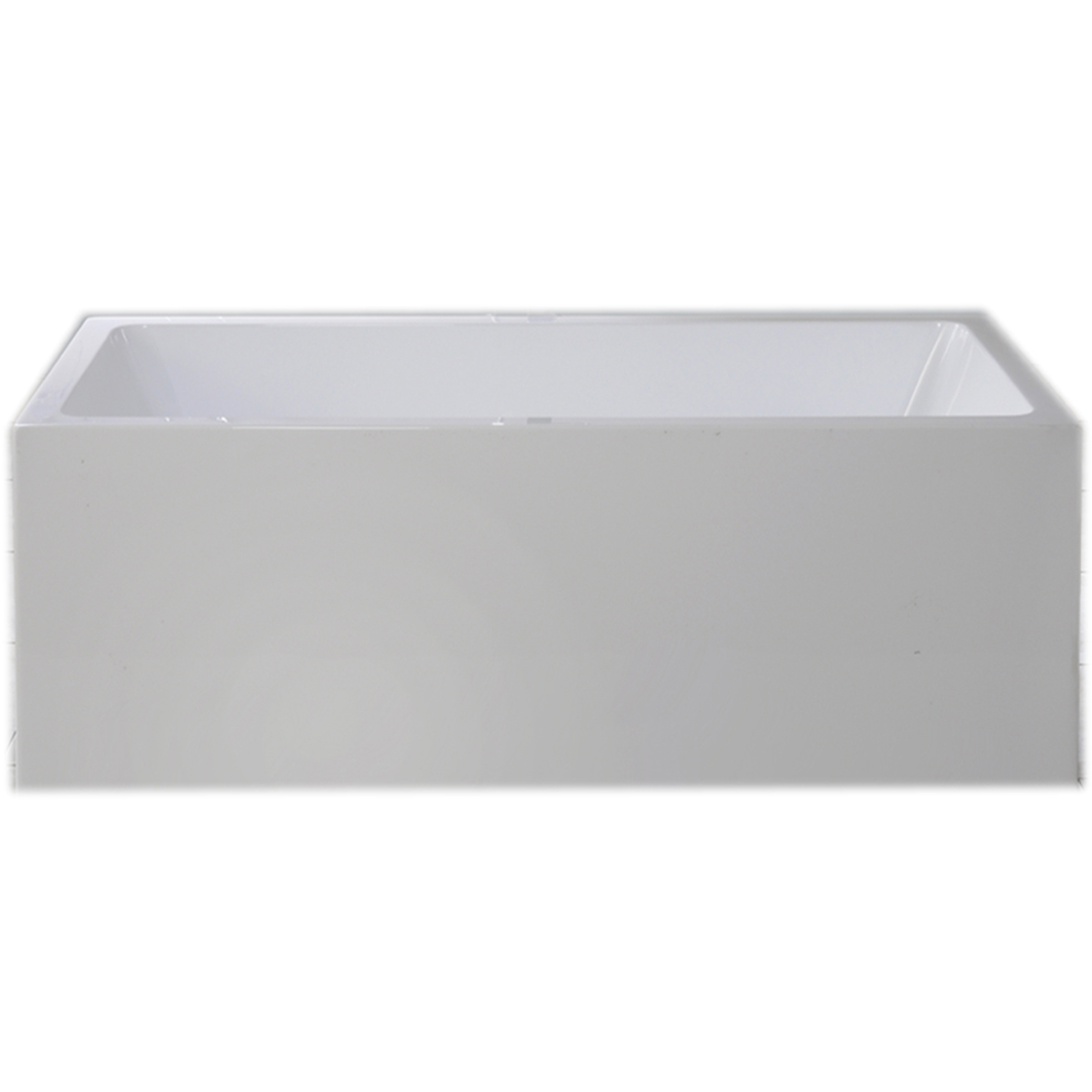 square free standing bath 1500mm luxry square finish sydney bathroom