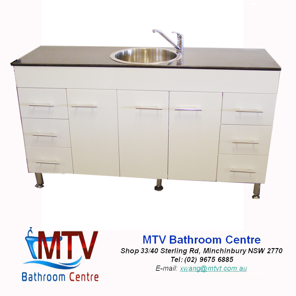 Kitchenette Sink Cabinet: Space Saver Kitchenette 1500 High Gloss Kitchen Cabinet