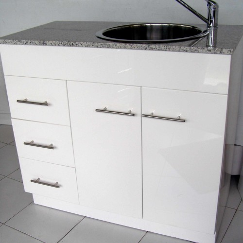 Kitchenette Sink Cabinet: Space Saver Kitchenette 900 High Gloss Kitchen Cabinet