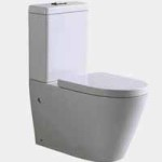 phoenix s trap wall faced toilet suite with soft close seat cove